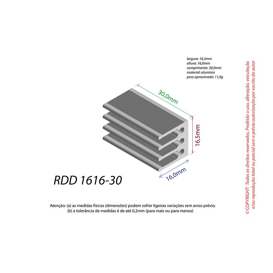 Dissipador de Calor RDD 1616-30