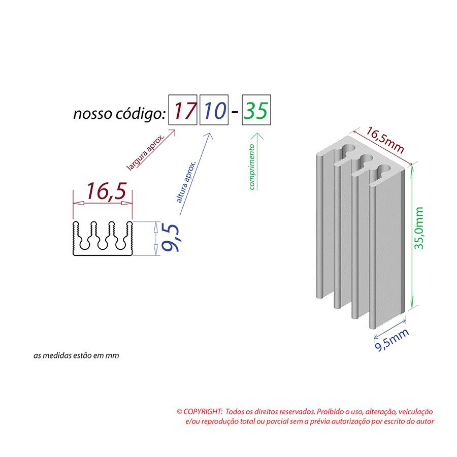 Dissipador de Calor RDD 1710-35