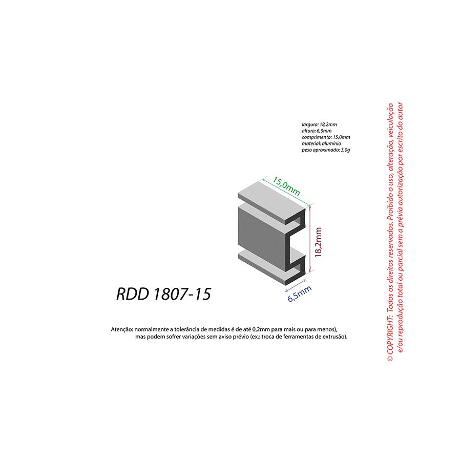 Dissipador de Calor RDD 1807-15