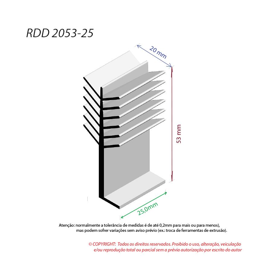 Dissipador de Calor RDD 2053-25