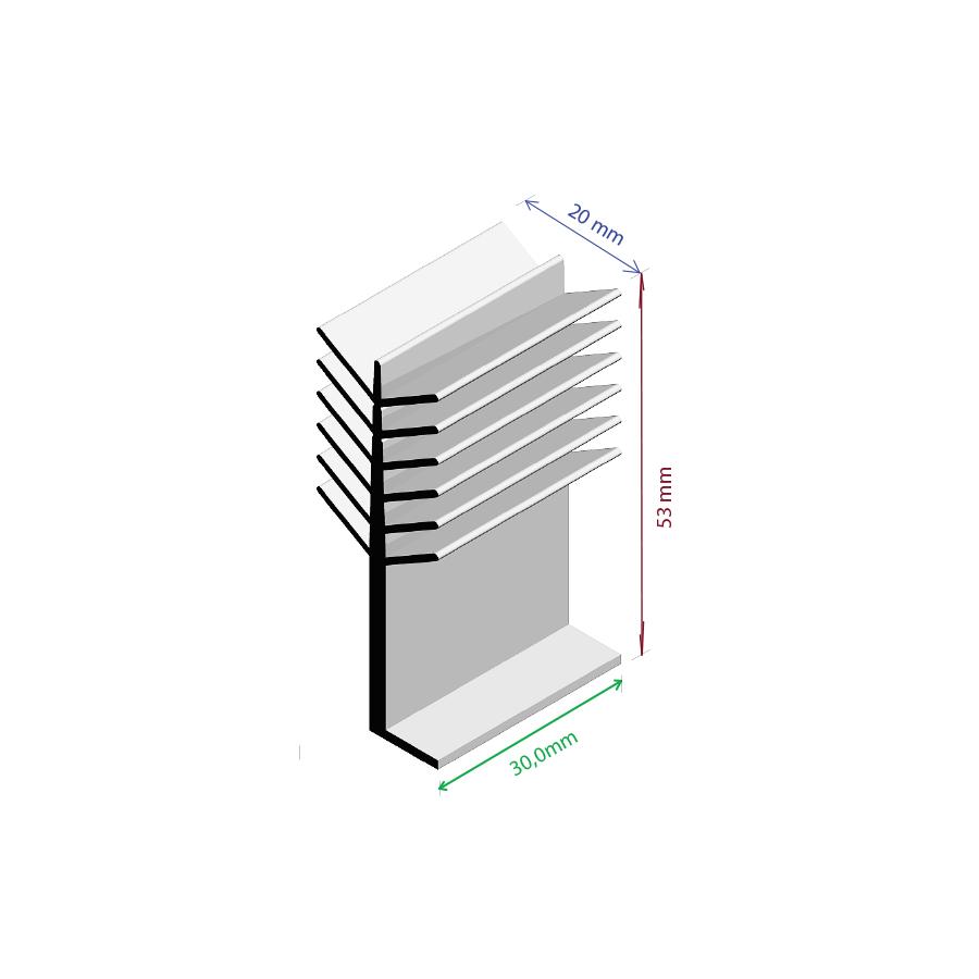 Dissipador de Calor RDD 2053-30