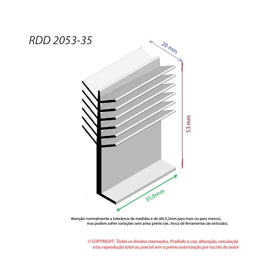Dissipador de Calor RDD 2053-35