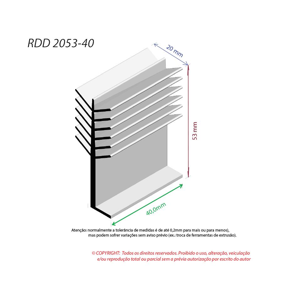 Dissipador de Calor RDD 2053-40