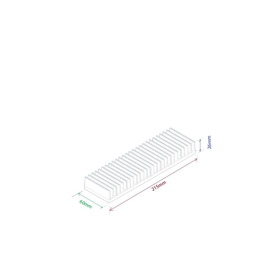 Dissipador de calor RDD 21526-60