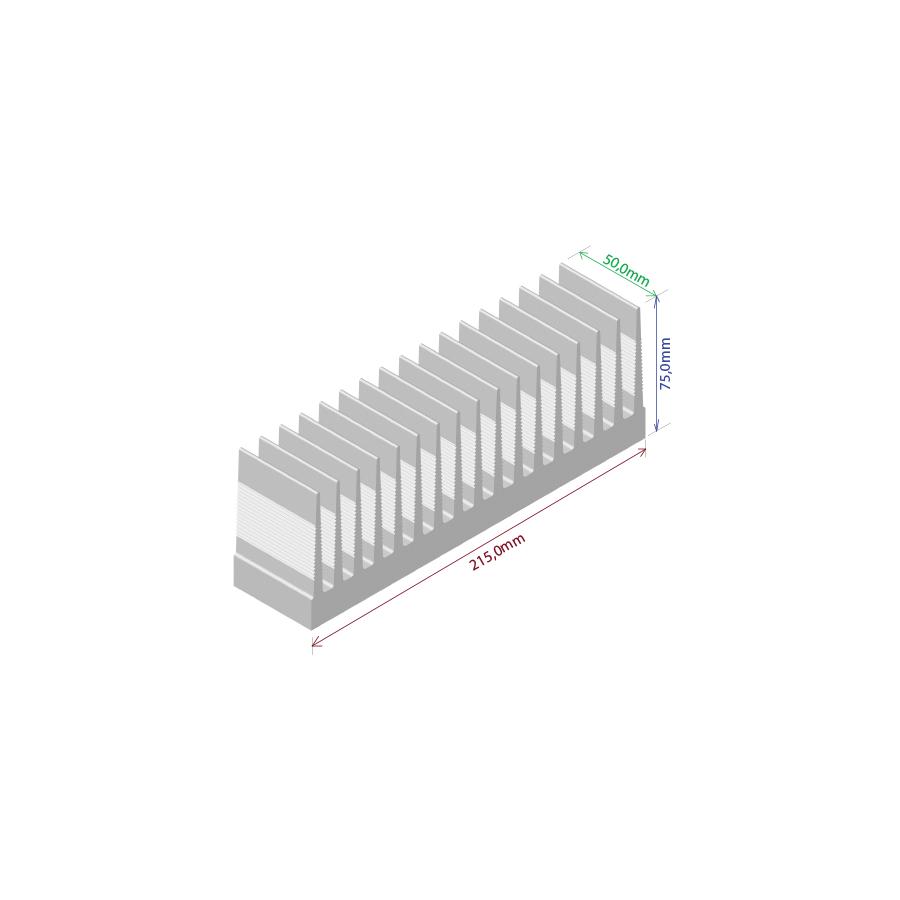 Dissipador de calor RDD 21575-50