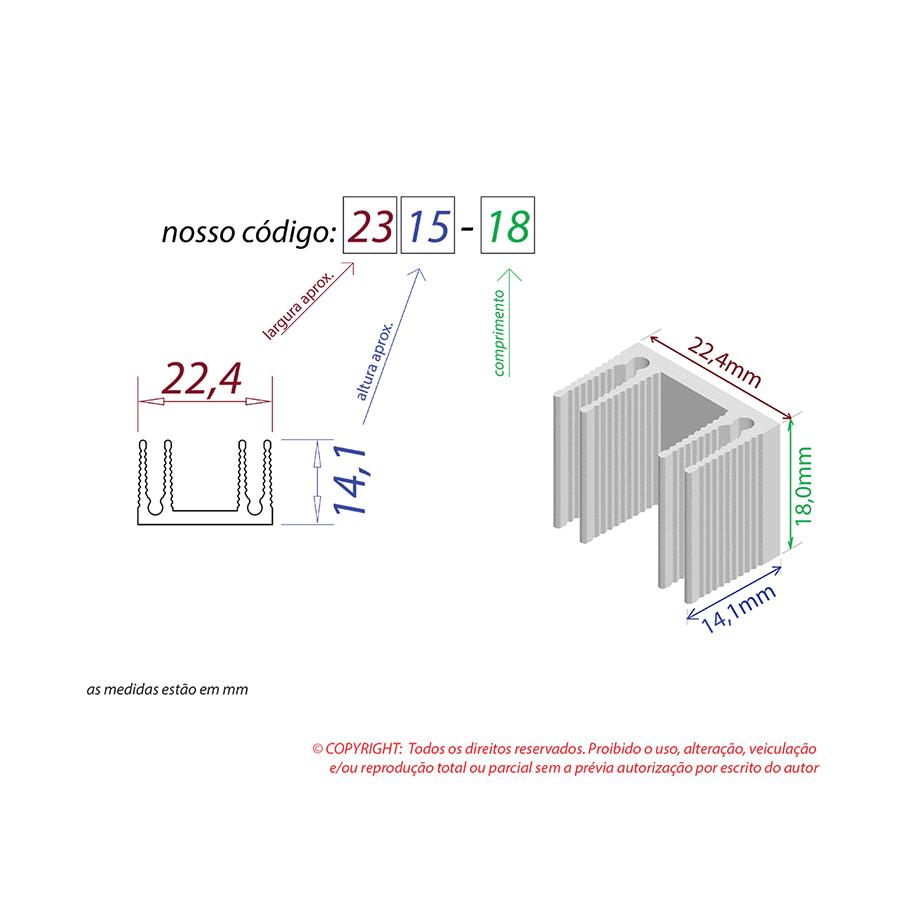 Dissipador de Calor RDD 2315-18