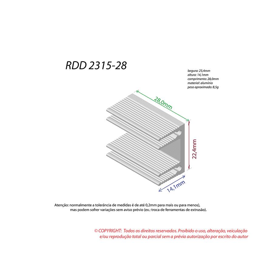 Dissipador de Calor RDD 2315-28