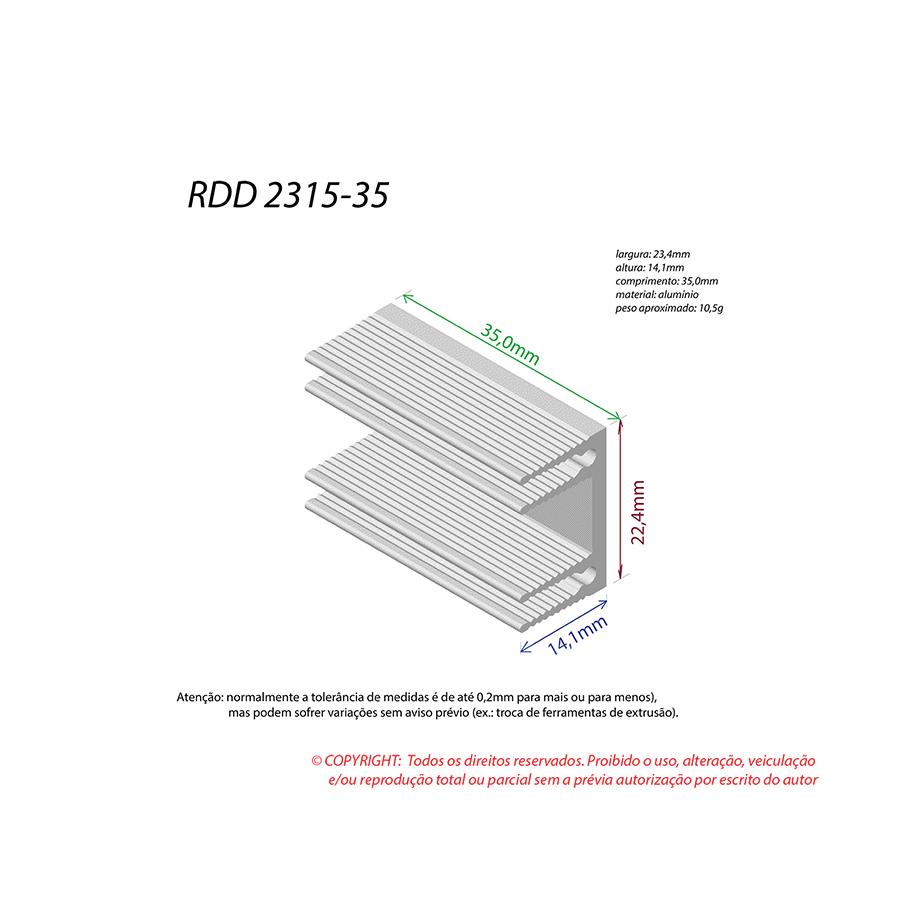 Dissipador de Calor RDD 2315-35