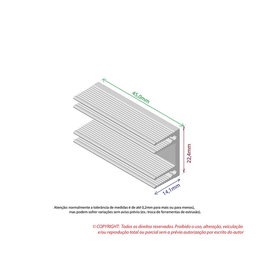 Dissipador de Calor RDD 2315-45