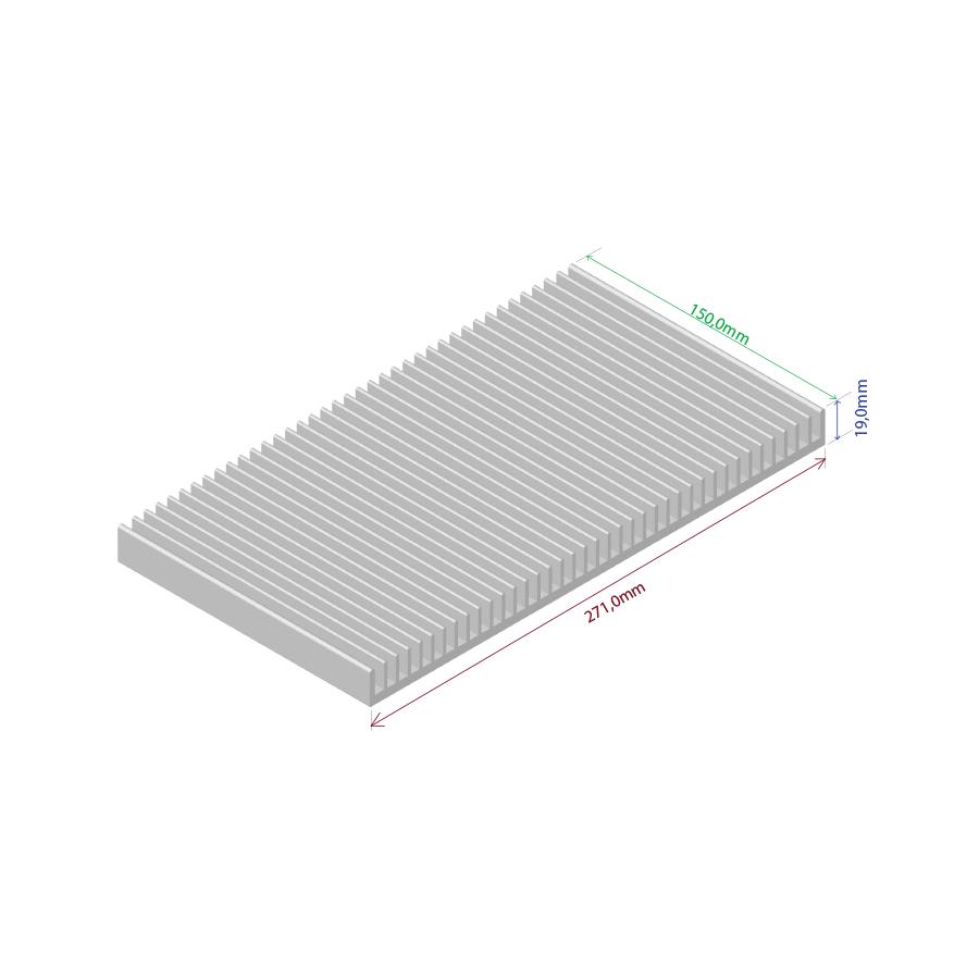 Dissipador de calor RDD 271019-150