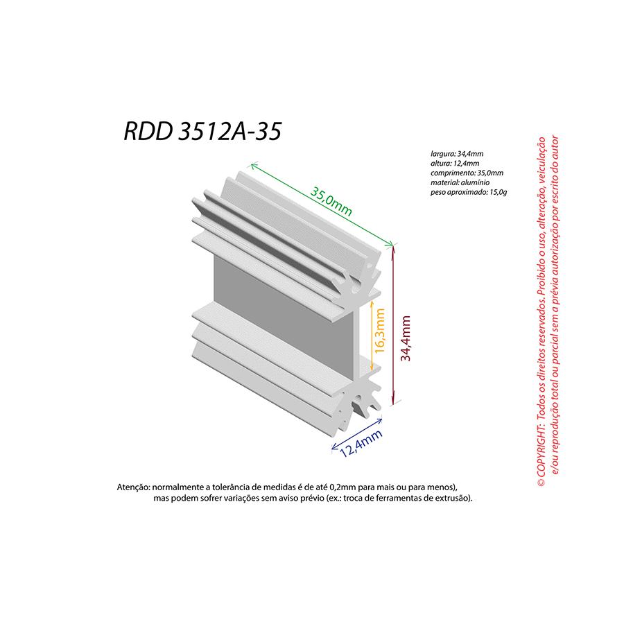 Dissipador de Calor RDD 3512A-35