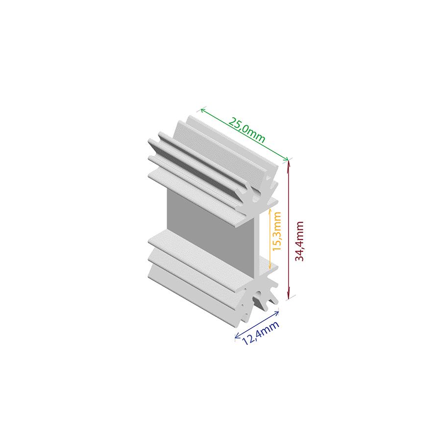 Dissipador de Calor RDD 3512P-25