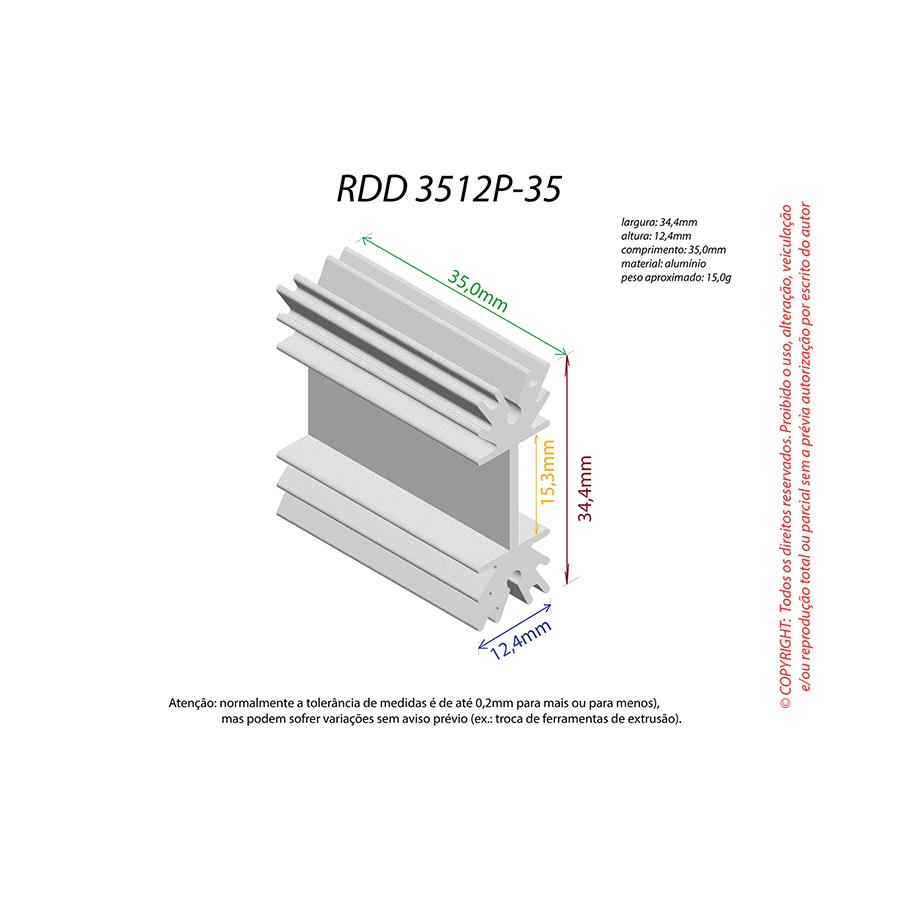 Dissipador de Calor RDD 3512P-35