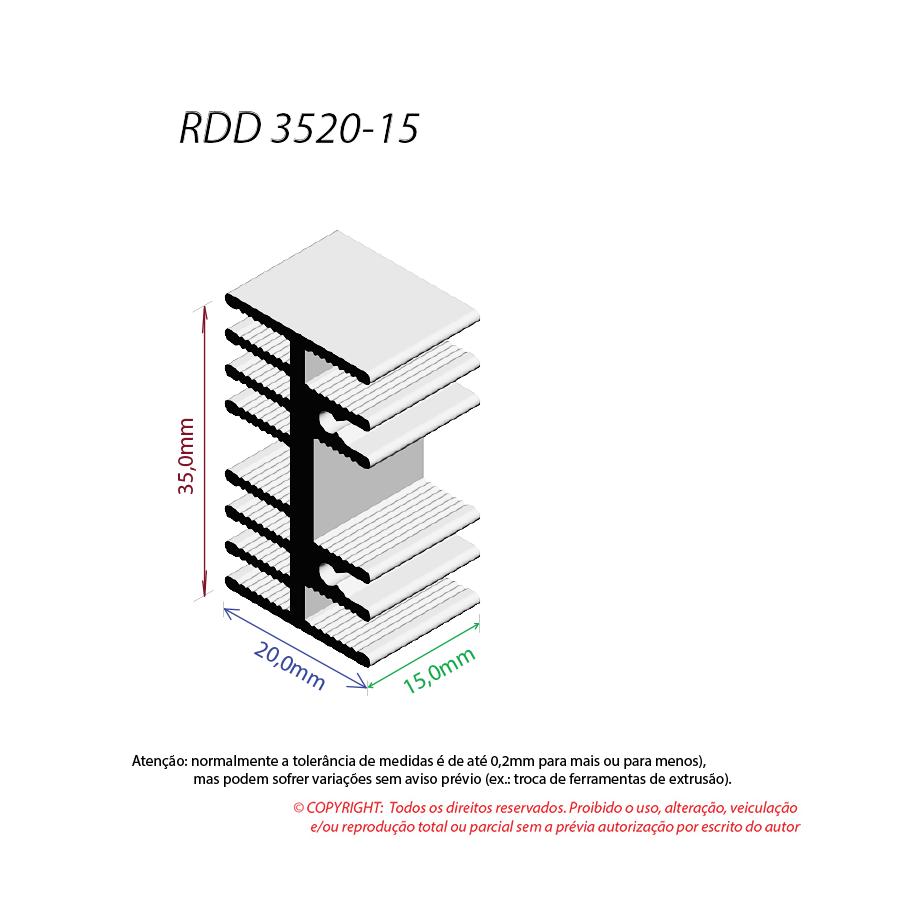 Dissipador de Calor RDD 3520-15