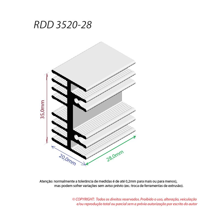 Dissipador de Calor RDD 3520-28