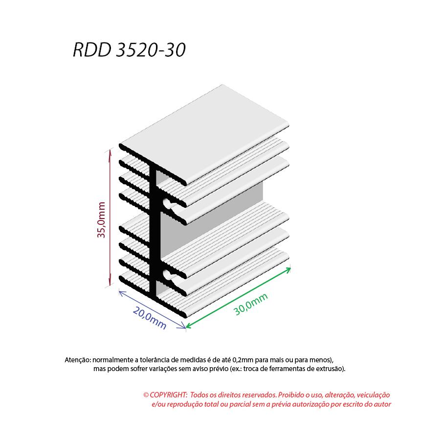 Dissipador de Calor RDD 3520-30