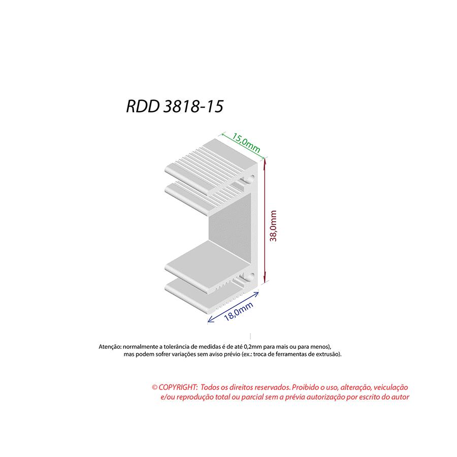Dissipador de Calor RDD 3818-15