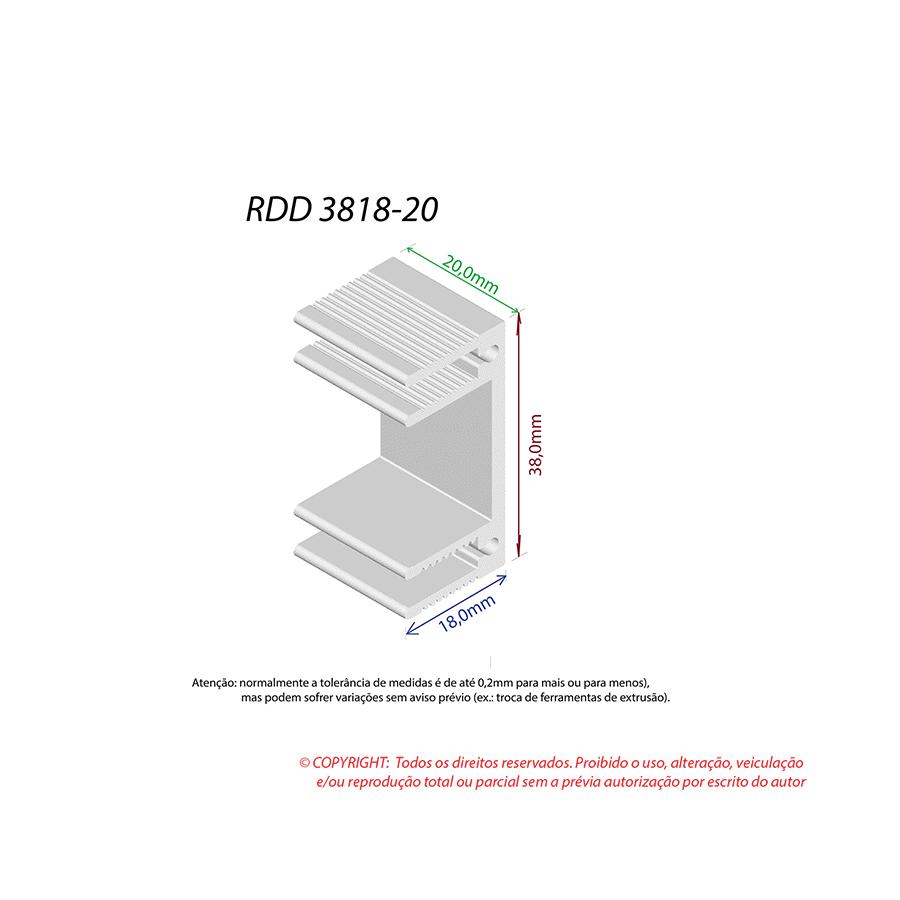 Dissipador de Calor RDD 3818-20