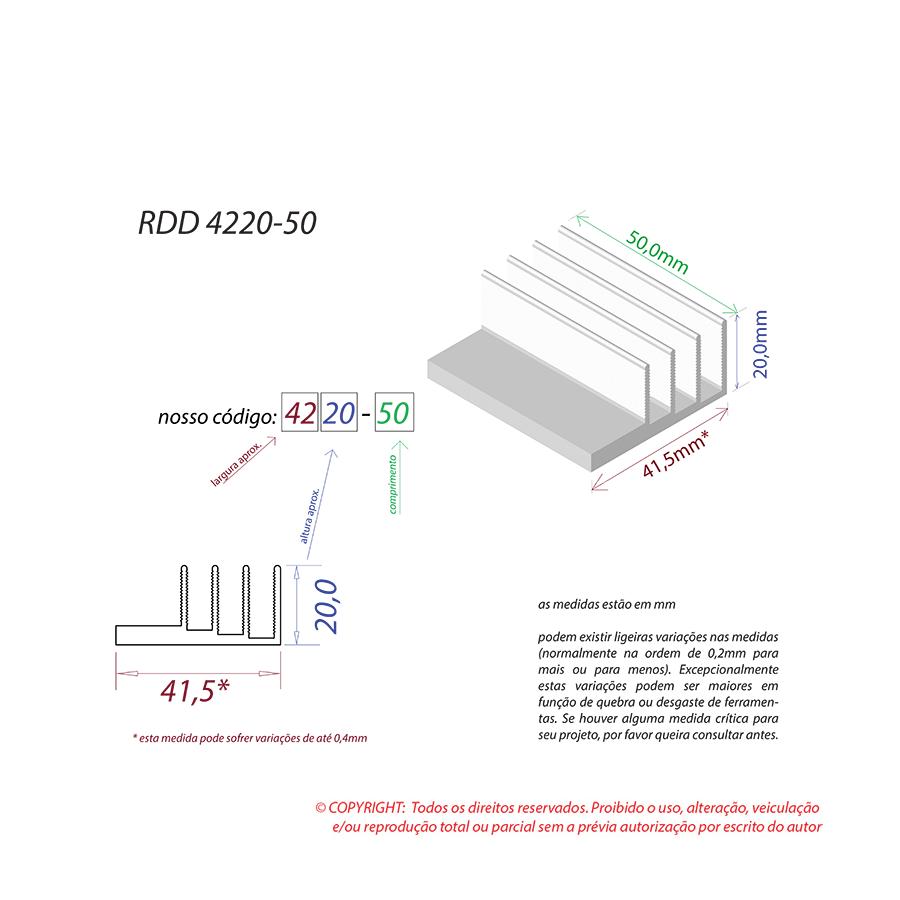 Dissipador de Calor RDD 4220-50
