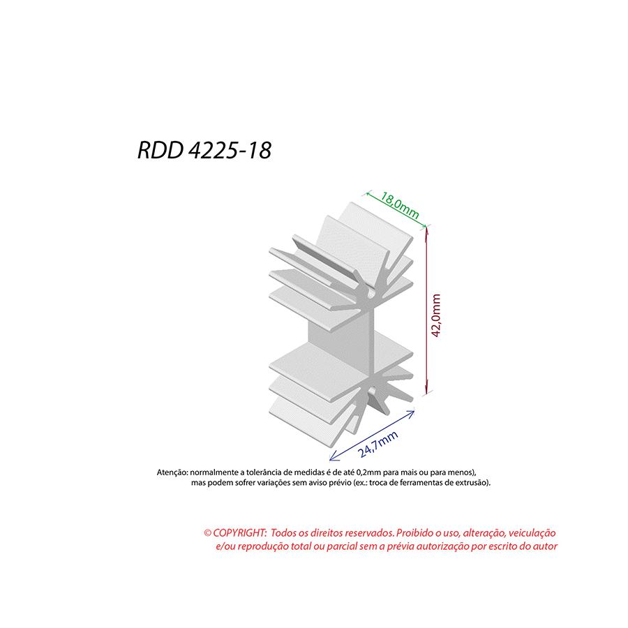 Dissipador de Calor RDD 4225-18