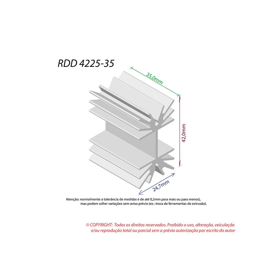Dissipador de Calor RDD 4225-35