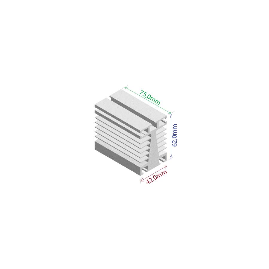 Dissipador de calor RDD 4262-75