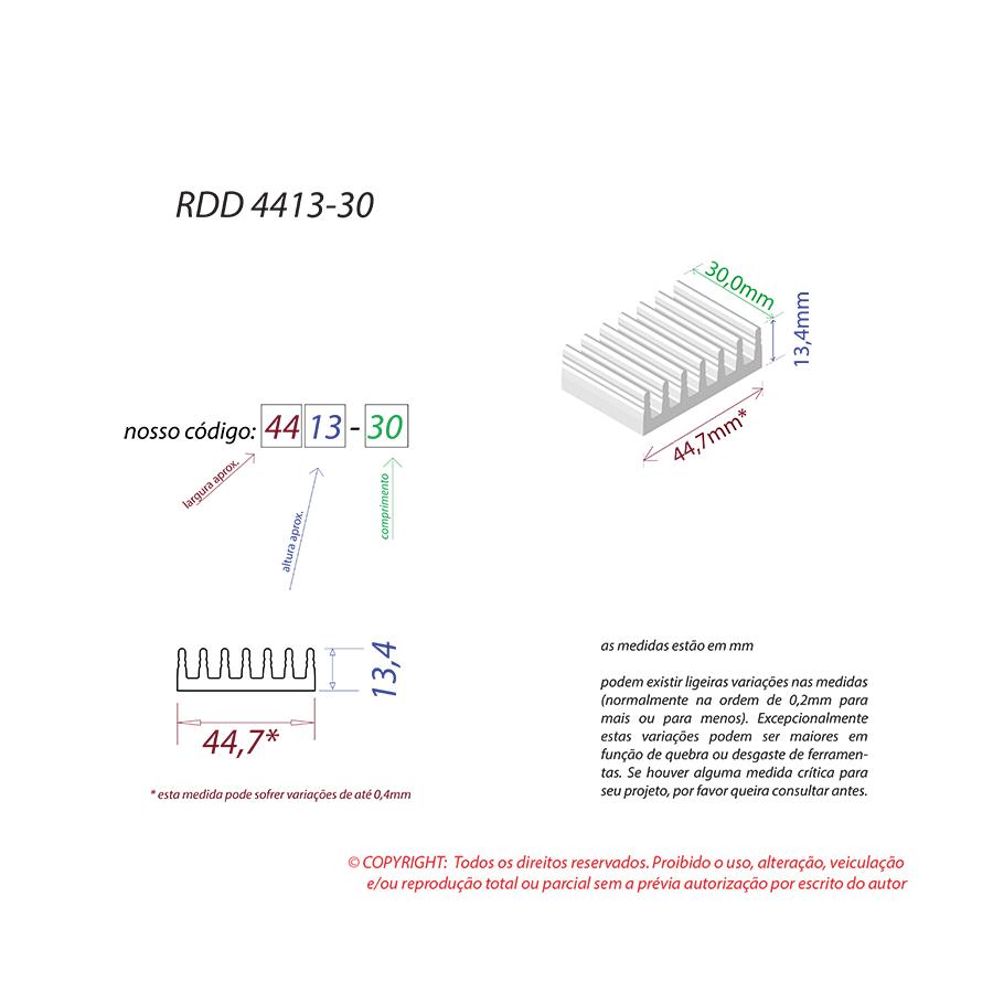 Dissipador de Calor RDD 4413-30