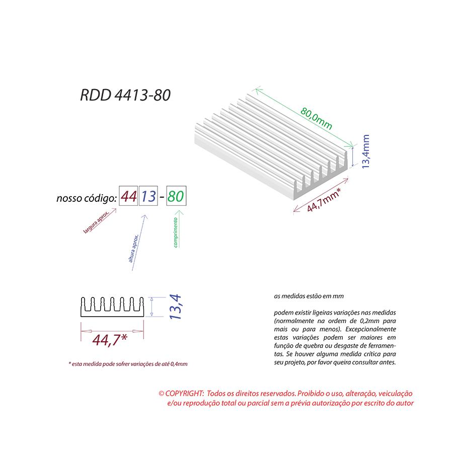 Dissipador de Calor RDD 4413-80