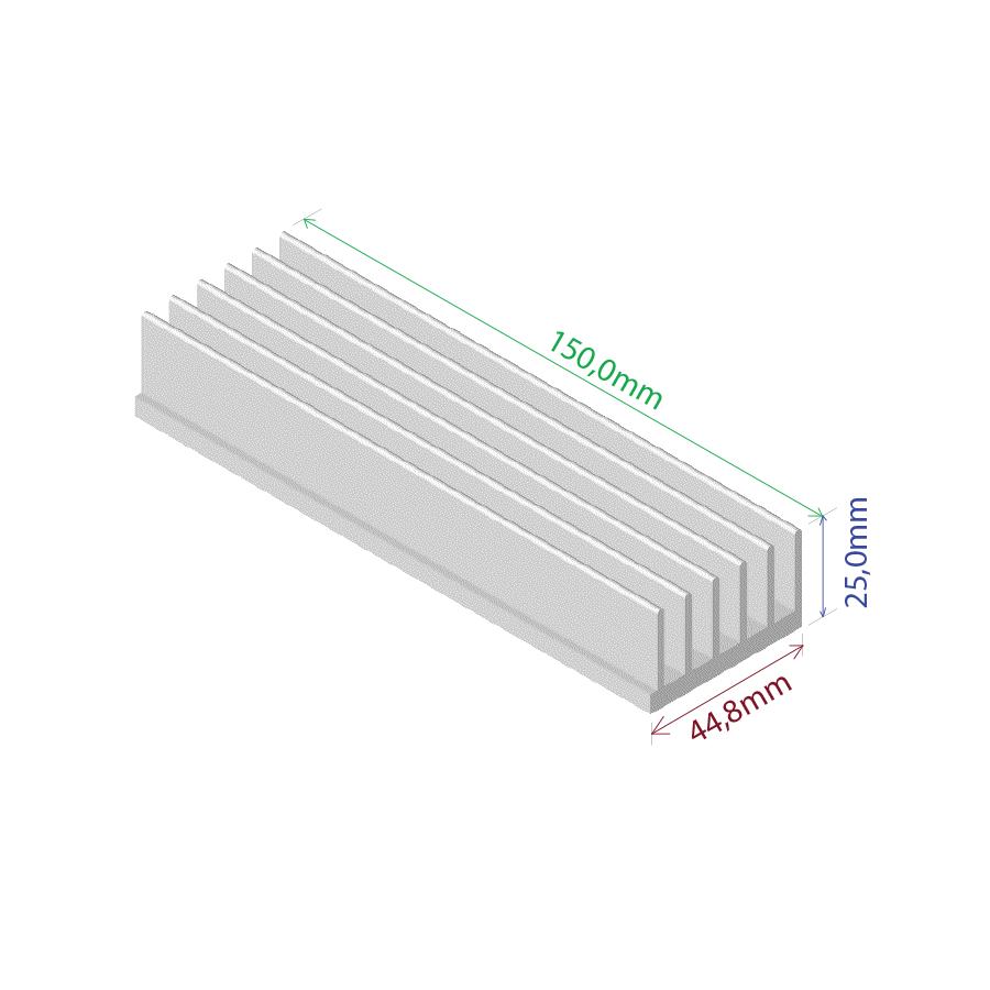 Dissipador de Calor RDD 4425-150