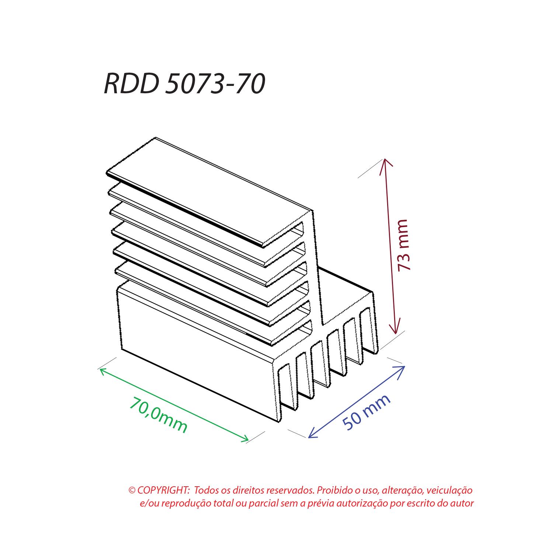 Dissipador de Calor RDD 5073-70