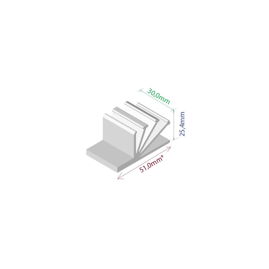 Dissipador de Calor RDD 5126-30