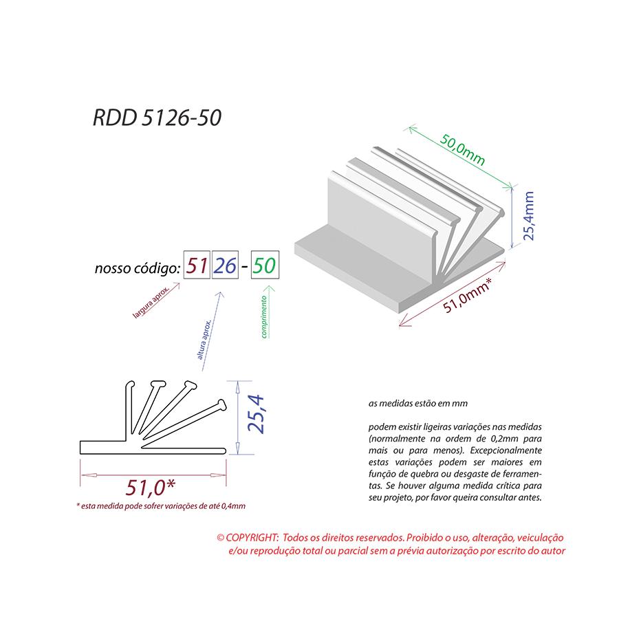 Dissipador de Calor RDD 5126-50