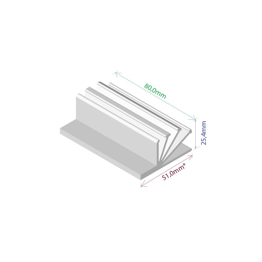 Dissipador de Calor RDD 5126-80