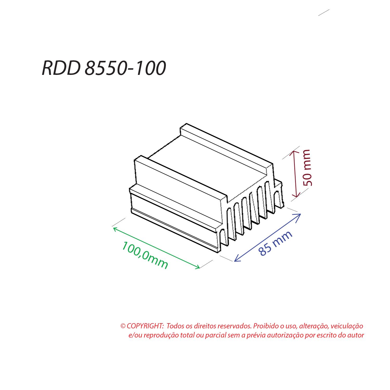 Dissipador de Calor RDD 8550-100
