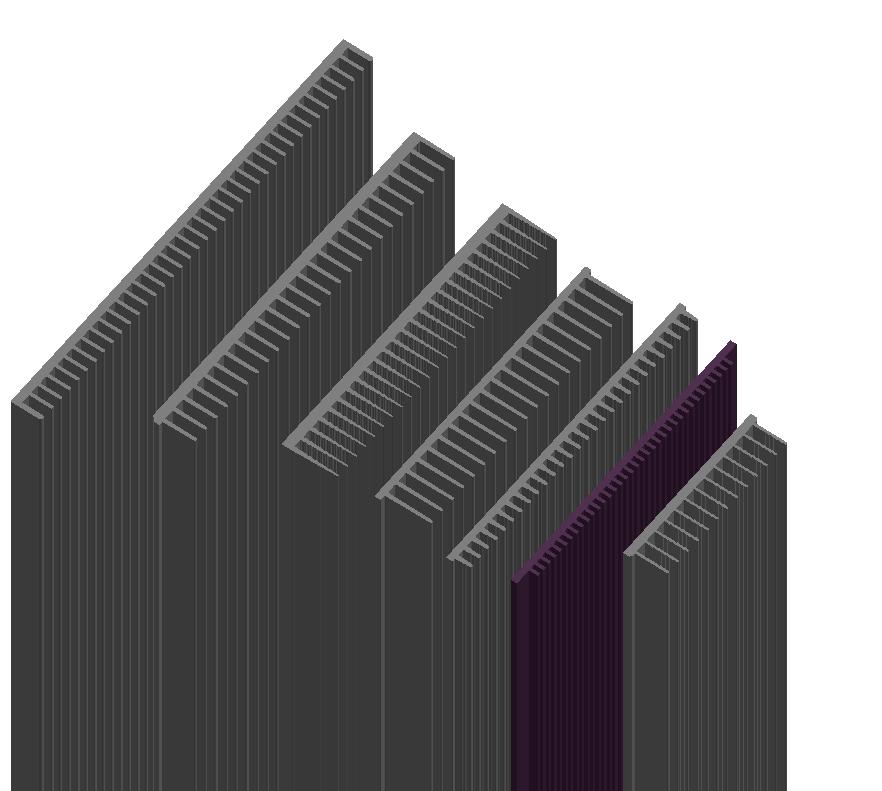 Dissipador Luminaria RDD17909