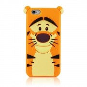 Capa iPhone 6s / 6 - Tigrão Ursinho Pooh Silicone 3D
