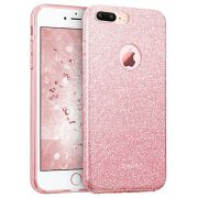 Capa iPhone 8 Plus / 7 Plus - Glitter Dupla Proteção