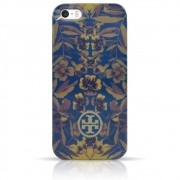 Capa iPhone Se / 5s / 5 - Tory Burch - Floral Azul
