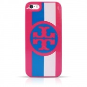 Capa iPhone Se / 5s / 5 - Tory Burch - Listra Rosa