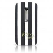 Capa Moto G3 / Turbo - Victoria Secrets Silicone 3D - Preta