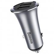 Carregador Veicular para Celular Dual USB - Baseus Trumpet