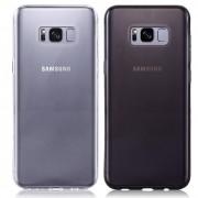 Kit 2 Capas Samsung  Galaxy S8 Plus - Transparente e Fumê Silicone TPU