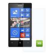 Película Transparente Brilhante - Nokia Lumia 520