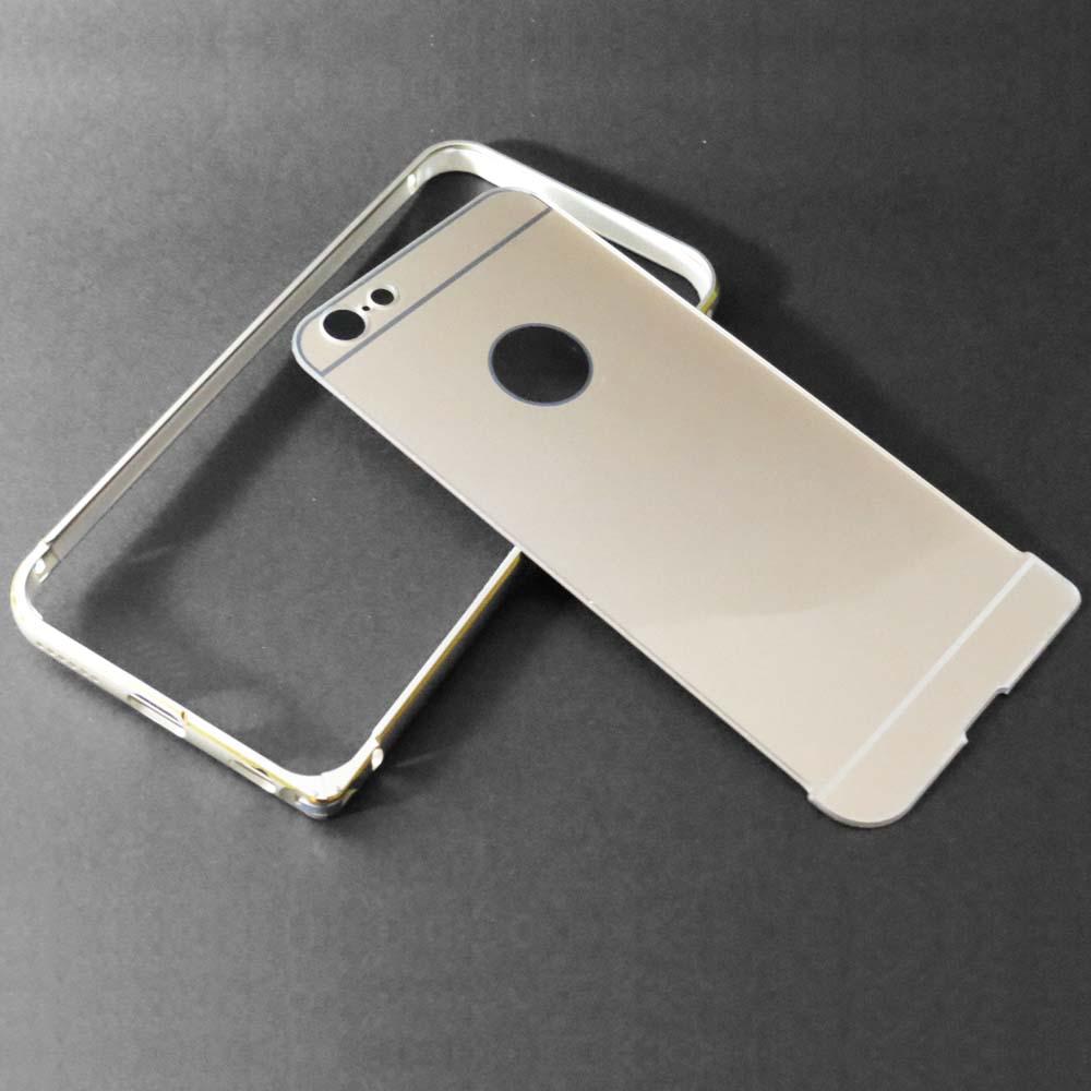 Capa Bumper iPhone 6s / 6 - Alumínio  - Dourada e Champagne