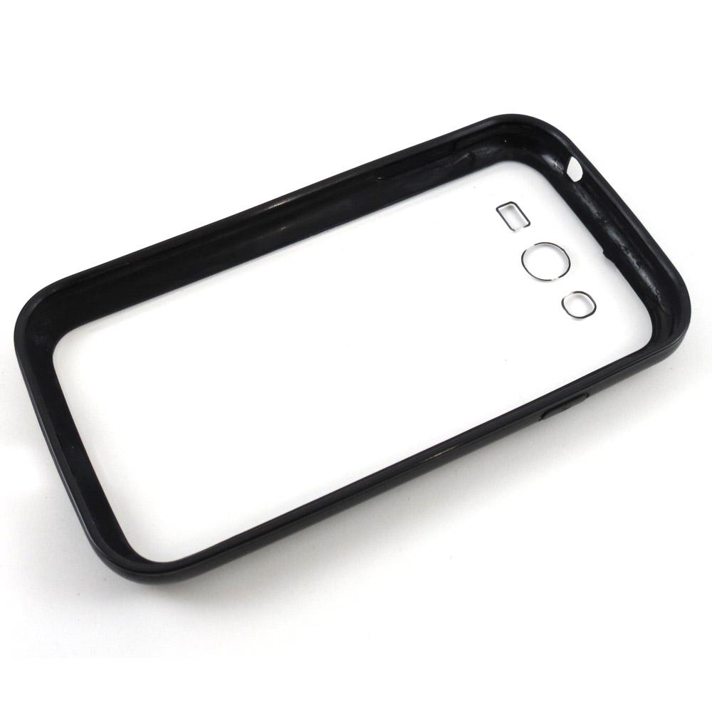 Capa Samsung Galaxy Gran Duos - Bumper - Silicone Preta