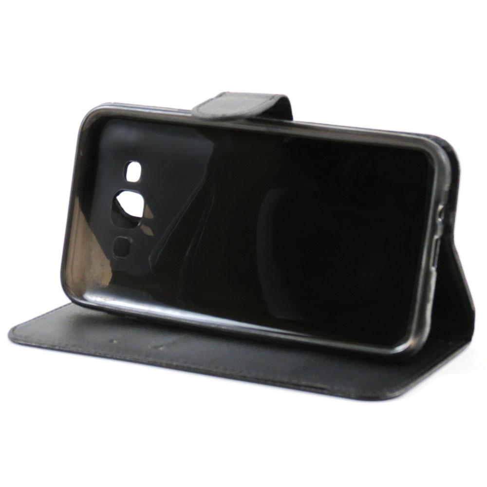 Capa Galaxy A3 (2015) - Carteira Flip - Preta
