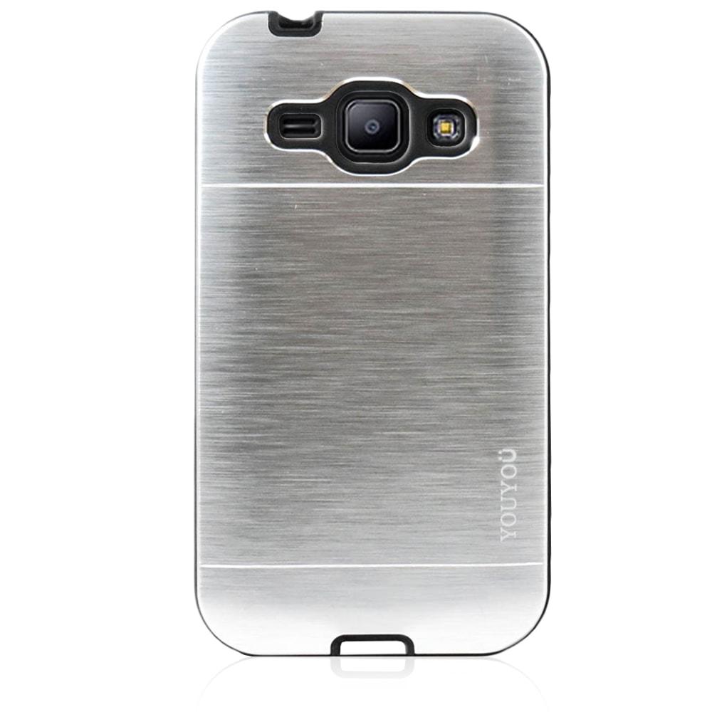 Capa Galaxy J1 (2015) - Anti Impacto - Alumínio