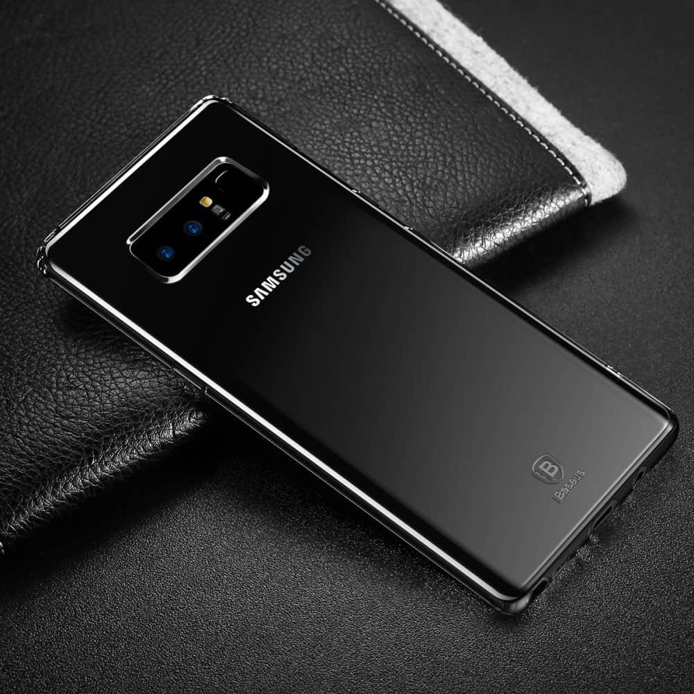 Capa Galaxy Note 8 - Transparente Silicone - Baseus