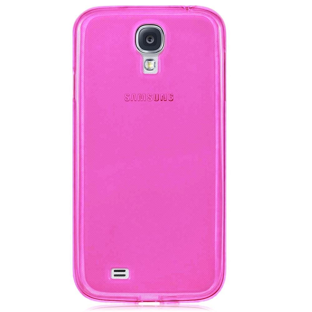 Capa Galaxy S4 - Rosa Flexível Antiderrapante