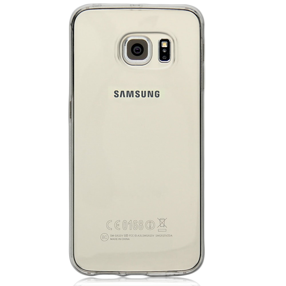 Capa Galaxy S6 Edge - Transparente Silicone TPU